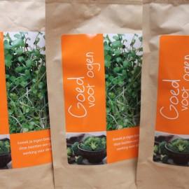 Zorg goed voor je ogen… met broccoli cress!
