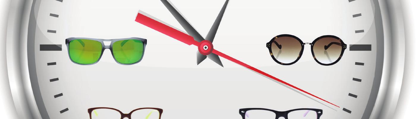 Altijd online brillen passen